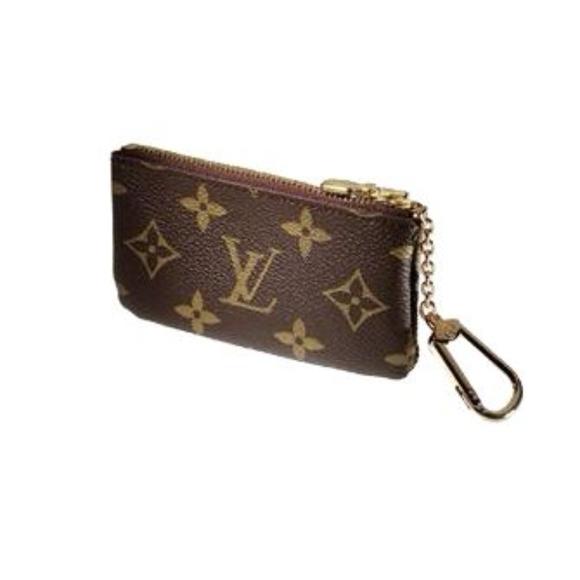 71d21f6875ca Louis Vuitton Monogram Canvas Key Pouch